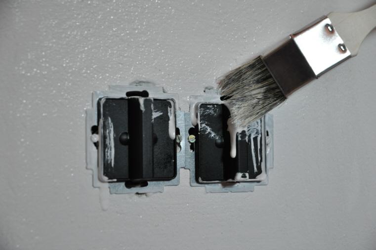 steckdosen malerabdeckung keine angemalten steckdosen mehr die neuheit ebay. Black Bedroom Furniture Sets. Home Design Ideas